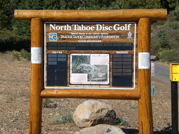 North Tahoe Disc Golf